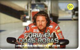 Télécarte Brésil  Moto Motor Bike Phonecard  Film Movie DVD Série Furia (G 112) - Motos