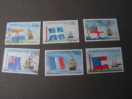 St-Lucia Schife Nice Modern Lot - St.Lucia (1979-...)