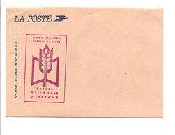 ENVELOPPE LA POSTE PUB CNE - Documents Of Postal Services