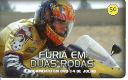 Télécarte Brésil  Moto Motor Bike Phonecard  Film Movie DVD Série Furia (G 113) - Motos