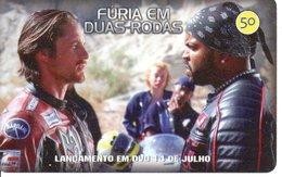 Télécarte Brésil  Moto Motor Bike Phonecard  Film Movie DVD Série Furia (G 114) - Motorbikes