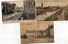 BELGIQUE - ROUSBRUGGE - Lot De 3 Cartes ( En L'état ) - Belgique