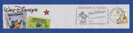 BRD MWSt Gebühr Bezahlt - LORCH, Sieger - Walt Disneys Wunderwelt Auf Briefmarken 1988 - Disney