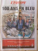 Journal L'Equipe - Supplément 29 Avril 2004 - 100 Ans En Bleu - L'équipe De France - 1950 à Nos Jours