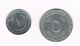 -&  ALGERIA  1 En 5 CENTIMES   1964 - Algérie
