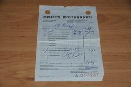 32-     BON VAN MEIJER'S KOLENHANDEL, HAREN - 1966 - Nederland