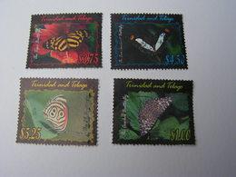 Trinidad .. Nice Modern Lot  Schmeterlinge - Trinidad & Tobago (1962-...)
