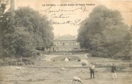 LE CATEAU JARDIN PUBLIC ET PALAIS FENELON - Le Cateau
