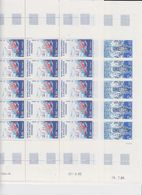 TAAF 1986 Ships 2v Complete Sheetlets With Ful Margins  ** Mnh (TA237) - Ongebruikt