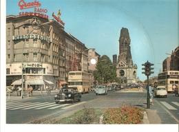 Old Musical 45rpm Record Postcard Schallbildkarte Siebenmal Woche BERLIN Kurfurstendamm Kaiser-Wilhelm-Gedachtniskirche - Unclassified