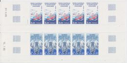 TAAF 1986 Ships 2v  Strip Of 5v (printing Date) ** Mnh (TA238) - Ongebruikt