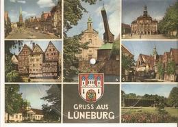 Old Musical 45rpm Record Postcard Schallbildkarte LUNEBURG Wenrich Tobias Sail Along Silvery Moon - Vinyl Records