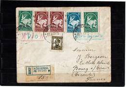 LMON3 - BULGARIE LETTRE AVION 13/11/1935 - Poste Aérienne