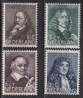 1937 Zomerzegels Complete Postfrisse Serie NVPH 296 / 299 - Periode 1891-1948 (Wilhelmina)