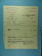 Ateliers De Constructions électriques De Charleroi Cablerie /36/ - Électricité & Gaz