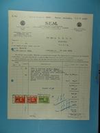 S..E.M. Société D'électricité Et De Mécanique Bruxelles /37/ - Electricity & Gas