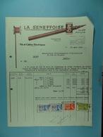 La Seneffoise Fils Et Câbles électriques Seneffe /39/ - Électricité & Gaz