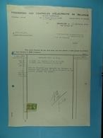 Fédération Des Centrales D'électricité De Belgique Bruxelles /41/ - Électricité & Gaz