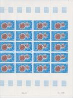 TAAF 1986 Echinoderme 1v Complete Sheetlet With Full Margins ** Mnh (TA240) - Terres Australes Et Antarctiques Françaises (TAAF)