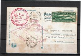 LMON3 - USA ZEPPELIN EUROPE - AMERIQUE 31/5/1939 TP GRAF ZEPPELIN 65c - 1a. 1918-1940 Used