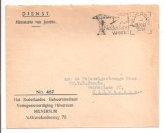 Dienst Ministerie Van Justitie Hilversum. Hilversum Nederland Werkt 1948 - Periode 1891-1948 (Wilhelmina)