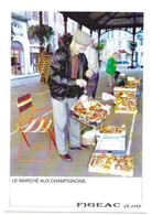 Figeac Le Marché Aux Champignons Cliché Rémy Bouyssié - Figeac
