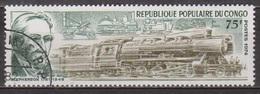 Chemins De Fer - Trains - CONGO - Stephenson - Locomotive à Vapeur - N° 346 - 1974 - Congo - Brazzaville