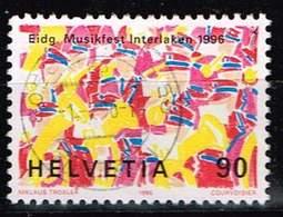 Schweiz 1996, Michel# 1573 O Blaskapelle - Usados