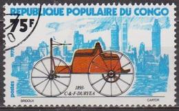 Histoire De L'automobile - CONGO - C Et F Duryea - N° 380 - 1975 - Congo - Brazzaville