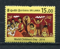 SRI LANKA 2016 World Childrens' Day 2016 MNH - Sri Lanka (Ceylon) (1948-...)