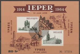 E 89 Ieper   Oblit/gestp - Commemorative Labels