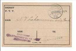 Rijkstelefoondienst Enkhuizen 1930 - Periode 1891-1948 (Wilhelmina)
