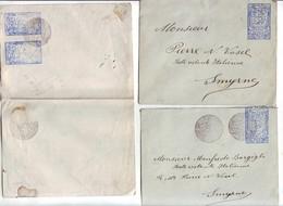 46  P 9 Entiers Postaux Anciens Neufs Et Obl - 1858-1921 Empire Ottoman