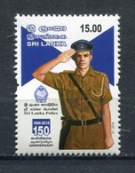 SRI LANKA 2016 150th Anniversary Of POLICE MNH - Sri Lanka (Ceylon) (1948-...)
