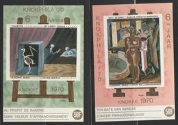 E113/114 Knokphila 70 ** - Commemorative Labels