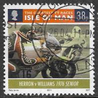 Isle Of Man 2011 TT Races 38p Type 8 Good/fine Used [39/32056/ND] - Isle Of Man