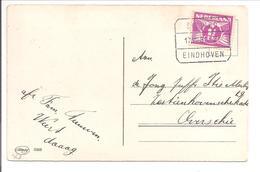 Treinblokstempel Sittard-Eindhoven D 17.8.31 = VROEG - Periode 1891-1948 (Wilhelmina)