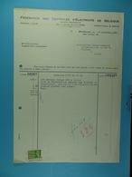 Fédération Des Centrales D'électricité De Belgique Bruxelles /51/ - Électricité & Gaz