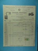 Manufacture Belge De Balais, Contacts Et Porte-balais Omnium Electrique Dison /52/ - Électricité & Gaz
