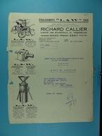 Etablissements Law Paris Richard Callier Gand /55/ - Électricité & Gaz