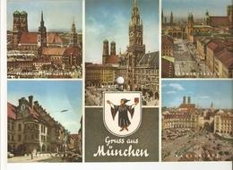 Old Musical 45rpm Record Postcard Schallbildkarte Hula Rock Legarde Valley Fini Busch MUNCHEN Karlsplatz Rathaus Kirche - Unclassified