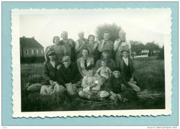 Gouy Lez Piéton -  Photo De La Famille Chandreau ( Moisson Années 30 ! ) - Courcelles