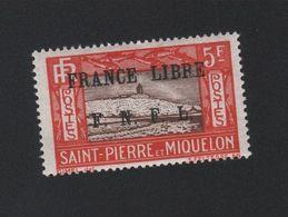 Faux Timbre De Saint-Pierre Et Miquelon N° 244 Gomme Charnière - St.Pierre Et Miquelon
