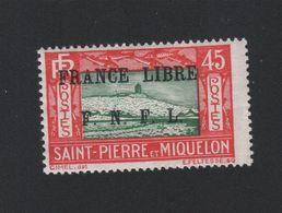 Faux Timbre De Saint-Pierre Et Miquelon N° 238 Gomme Charnière - St.Pierre Et Miquelon