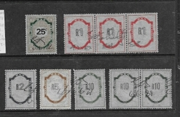 South Africa,   1978 1998, Revenue Stamps 25c, R1, R2, R5, R10. Used - South Africa (1961-...)