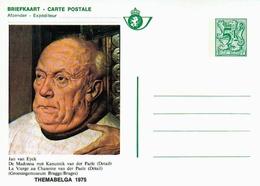 1975  Bk 6 - Themabelga - Van Eyck - Kanunnik Van Der Paele - La Vierge Au Chanoine Van Der Paele - - Stamped Stationery
