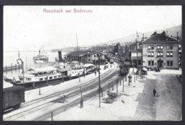 Rorschach Am Bodensee  - Hafen - Bahnhof - La Gare - Bahn - Eisenbahn - 1912 - SG St. Gallen
