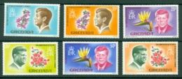 Grenada: 1968   50th Birth Anniv Of John Kennedy    MH - Grenada (...-1974)