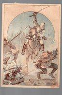 Corbeil / Afrique Noire)  Scène De La Vie Coloniale (offert Par F VICQ, Nouveautés, Corbeil ) (PPP17854) - Old Paper
