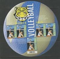 Belgique: 4559 ** En Petite Feuille  (Vollyball  équipe Belge Féminime) - Belgique